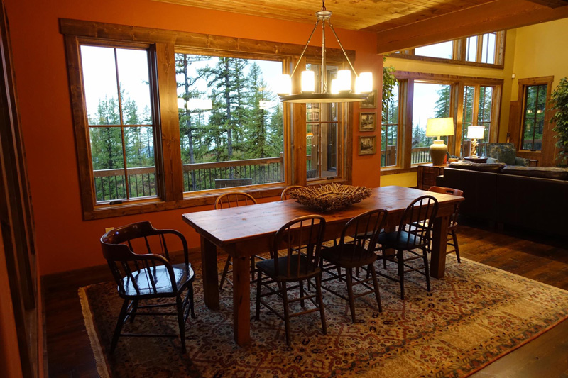 Great Room From Front Entry Dining